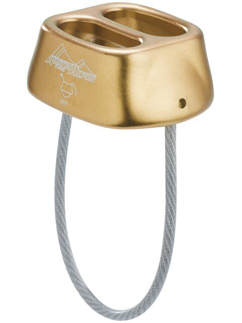 AustriAlpin Tuber Standard Belay Device bronze-brown anodized